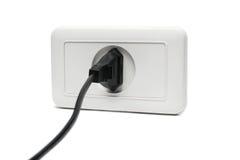 Enchufe el socket Imagen de archivo