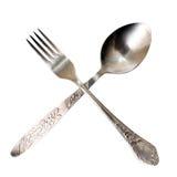 Enchufe y cuchara Fotos de archivo