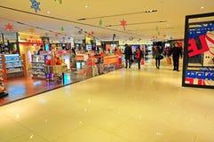 Enchufes de los productos del cuidado de la belleza, Hong-Kong imagen de archivo