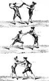 Enciclopedia dell'illustrazione dello spadaccino Immagine Stock
