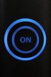Encienda el botón Imagen de archivo libre de regalías