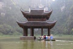 Encienda el templo Fotografía de archivo