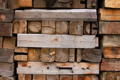 Encienda la madera fotografía de archivo libre de regalías