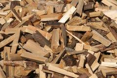 Encienda la madera Imagen de archivo libre de regalías