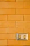Encienda la pared Imagen de archivo libre de regalías