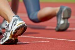 Encienda las piernas Foto de archivo libre de regalías