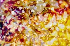 Enciende el fondo: falta de definición del concepto de las decoraciones del papel pintado de la Navidad contexto del festival del Imágenes de archivo libres de regalías