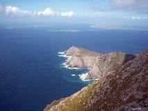 Encima de la pista de Achill Imagen de archivo libre de regalías