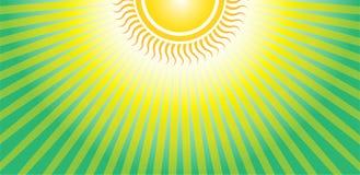 Encima de la salida del sol de Sun Foto de archivo libre de regalías