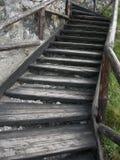 Encima de las escaleras Imagen de archivo libre de regalías