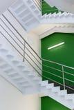 Encima de pasos de la escalera Fotografía de archivo