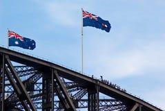 Encima de Sydney Imagen de archivo