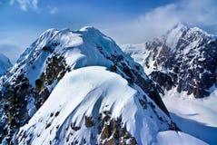 Encima del mundo de Alaska Imagenes de archivo