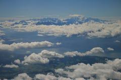 Encima en del aire Imagenes de archivo
