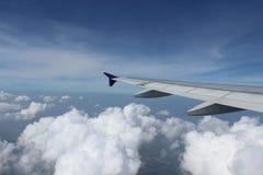 Encima en del aire Imagen de archivo libre de regalías