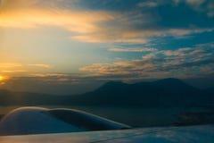Encima en del cielo Fotos de archivo