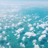 Encima en del cielo Fotos de archivo libres de regalías