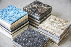 Encimera de piedra Fotografía de archivo libre de regalías