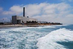 Encina εγκαταστάσεις παραγωγής ενέργειας, Carlsbad Καλιφόρνια Στοκ εικόνα με δικαίωμα ελεύθερης χρήσης