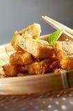 Encintado frito de la haba Foto de archivo