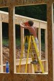 Enclavación de la madera contrachapada Imagen de archivo