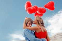 Enclenchement romantique Photographie stock
