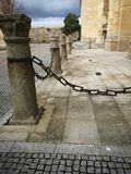 Enclosure. Typical enclosure of the cathedrals in spain stock photo