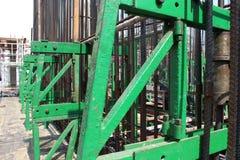 Encofrado deslizante concreto para la estructura de edificio Imágenes de archivo libres de regalías