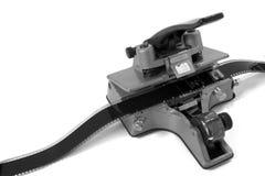 Encoladora de película de película 2 (blanco y negro) Foto de archivo libre de regalías