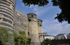 Encoleriza el castillo Fotografía de archivo libre de regalías