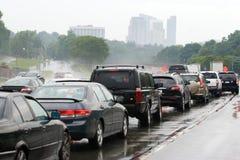 Encombrement d'embouteillage Image libre de droits
