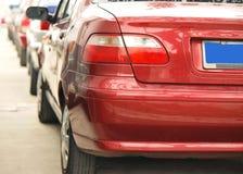 Encombrement de véhicule images stock