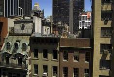 Encombrement urbain Photo libre de droits