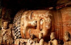 Encontra-se a Buda Imagens de Stock Royalty Free