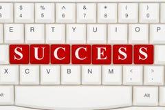 Encontrando o sucesso no Internet fotos de stock