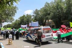 Encontrando-se em Shiraz, Irã Fotos de Stock