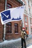 Encontrando-se para eleições livres em St Petersburg, 2012 Foto de Stock