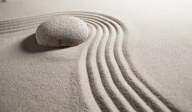 Encontrando a solução com flexibilidade do zen Fotos de Stock