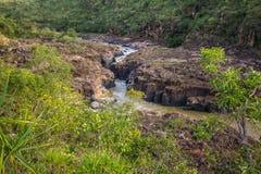 Encontro das Aguas in Chapada-Dos Veadeiros Stock Afbeelding
