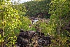 Encontro das Aguas in Chapada-Dos Veadeiros Royalty-vrije Stock Foto's