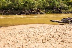 Encontro das Aguas w Chapada dos Veadeiros Obrazy Stock