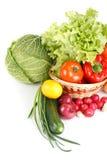 Encore-durée avec des légumes photo libre de droits