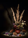 Encore-durée avec un vase. Image stock