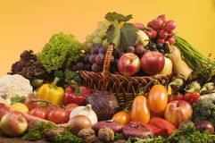 Encore-durée de légume et de nourriture de fruits Photographie stock