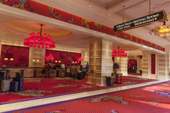 Encore Registration area in Las Vegas, NV on August 02, 2013 Royalty Free Stock Image