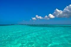 Encore un autre jour ensoleillé dans les Caraïbe photo libre de droits