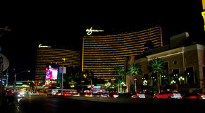 Encore and Wynn Luxury Hotels, Las Vegas, NV Stock Photo