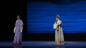 "Encounter-Kunqu Opera""Madame White Snake"" stock video"