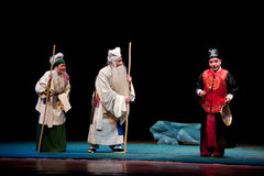 Encounter the Sheriff-Jiangxi opera� Breeze Pavilion Royalty Free Stock Photography