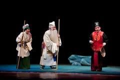 Encounter the Sheriff-Jiangxi opera: Breeze Pavilion Royalty Free Stock Photography